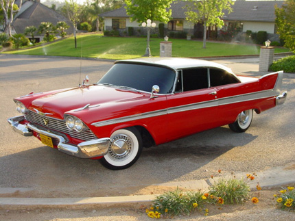 1958 Plymouth Fury Christine the Movie