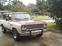 1984 Dodge Ramcharger picture, exterior
