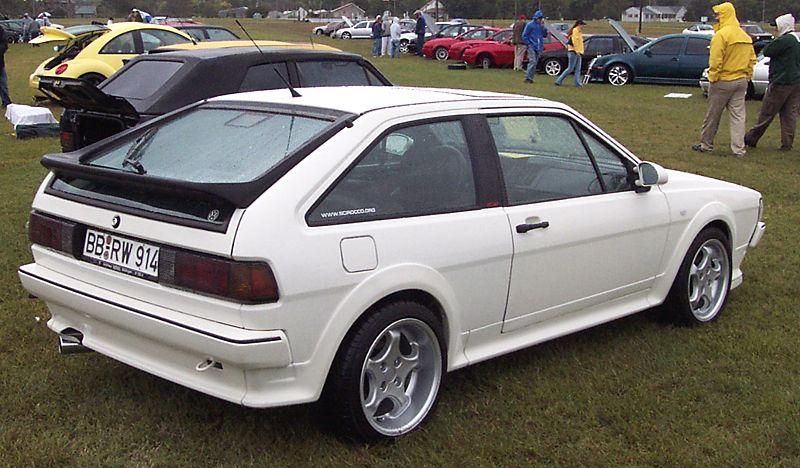 1987 Volkswagen Scirocco - Pictures - CarGurus