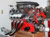 1968 Plymouth GTX picture, engine
