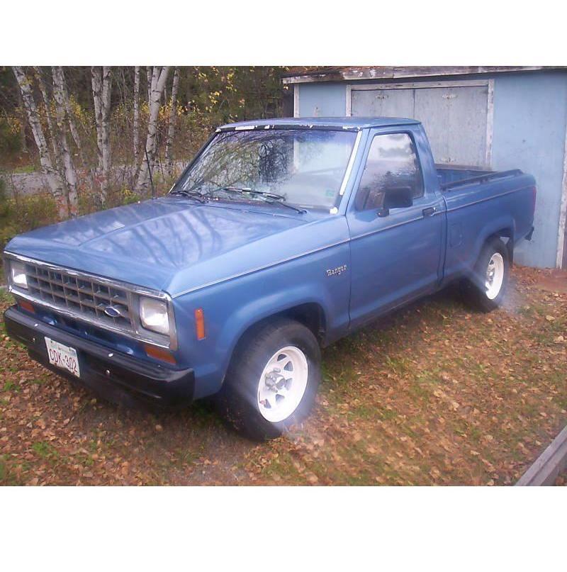 2000 Ford Ranger Super Cab Interior: 1988 Ford Ranger