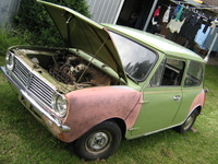 1967 Leyland Mini Overview