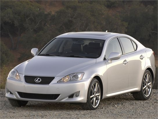 2008 lexus is 350 reliability