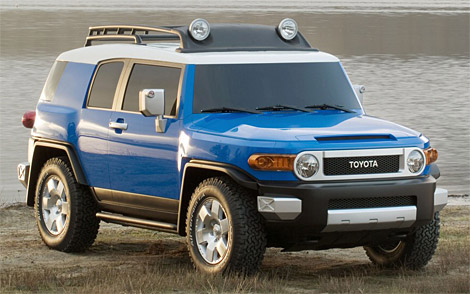 Toyota on Home   Research   Toyota   Fj Cruiser   2009