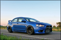 2008 Mitsubishi Lancer Evolution MR picture, exterior