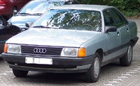 1984 Audi 100 Overview