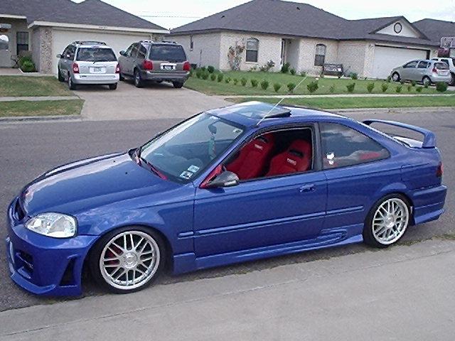 2000 Honda Civic Si Engine