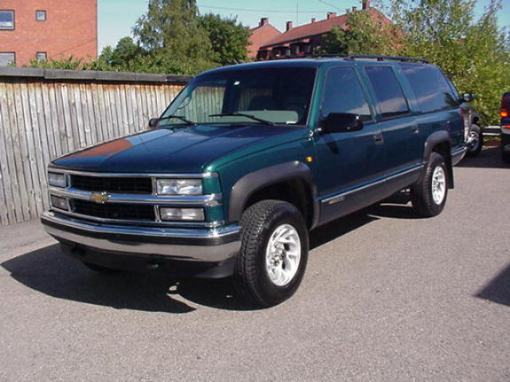 1996 Chevrolet Suburban 4 Dr K1500 4WD SUV picture, exterior