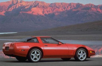 1990 Chevrolet Corvette ZR1, 1990 Chevrolet Corvette 2 Dr ZR1 Hatchback picture, exterior