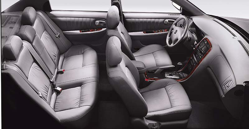 2004 Kia Optima EX V6 picture, interior
