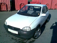 1993 Opel Corsa Overview