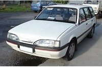 1987 Holden Camira Overview