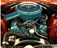 1973 Ford Maverick picture, engine