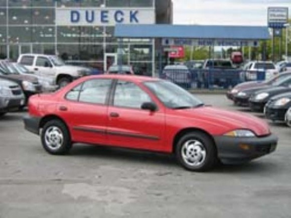 Chevrolet Cavalier Dr Std Sedan Pic X
