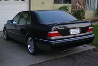 1995 Mercedes-Benz S-Class, 1995 Mercedes-Benz S420 Mercedes-Benz S420 Sedan picture, exterior