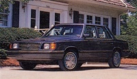 1985 Dodge Aries Overview