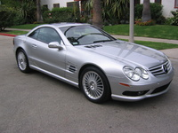 2003 Mercedes-Benz SL-Class SL55 AMG, 2003 Mercedes-Benz SL55 AMG 2 Dr Supercharged Convertible picture, exterior