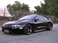 1995 Mitsubishi Eclipse GSX Turbo AWD, 1995 Mitsubishi Eclipse 2 Dr GSX Turbo AWD Hatchback picture, exterior