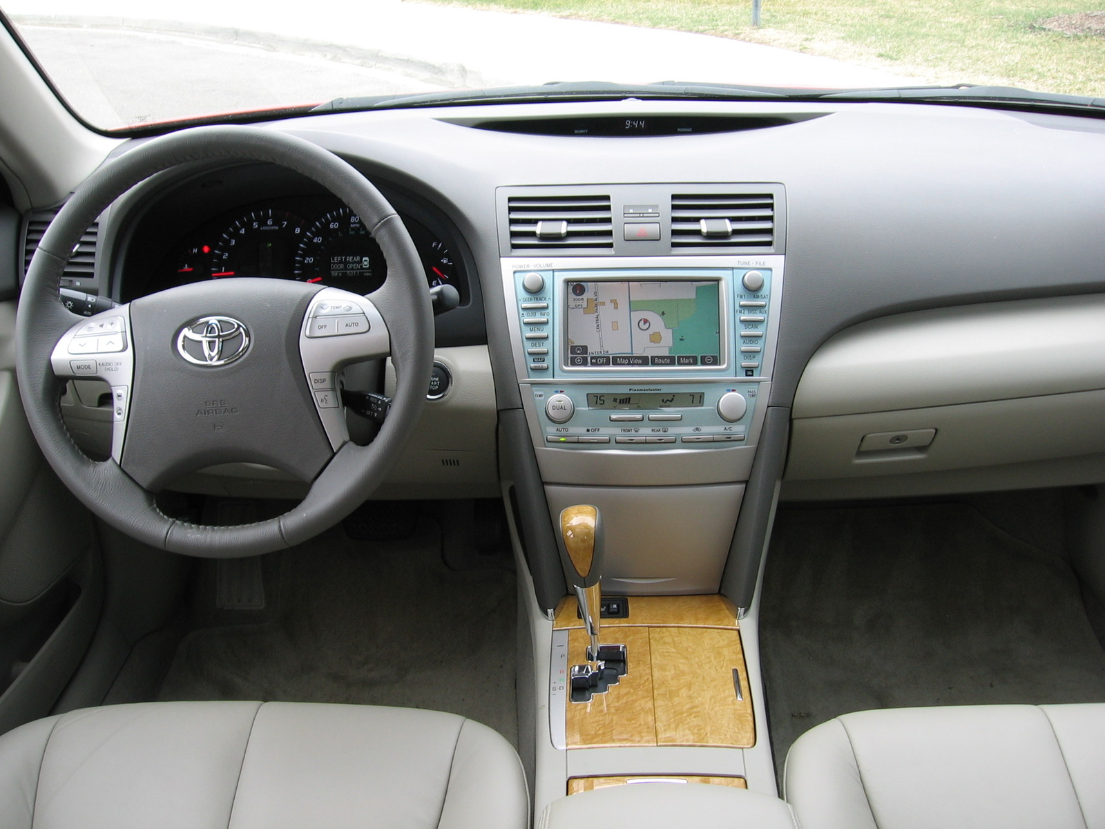2008 toyota camry interior pictures cargurus. Black Bedroom Furniture Sets. Home Design Ideas