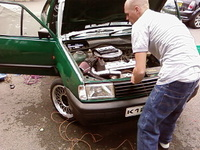 Picture of 1993 Volkswagen Polo, engine