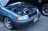 1992 Toyota Tercel 4 Dr LE Sedan picture, engine