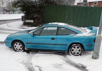 1993 Vauxhall Calibra Overview