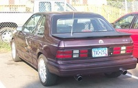 1993 Dodge Shadow 2 Dr ES Hatchback picture, exterior