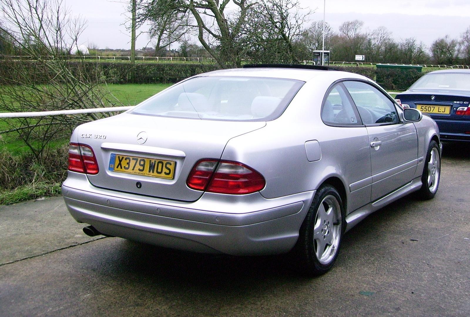 2001 mercedes benz clk class exterior pictures cargurus for Mercedes benz clk320