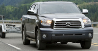 2009 Toyota Tundra, Front Right Quarter View, manufacturer, exterior