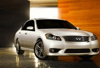 2009 Infiniti M45, Front Right Quarter View, manufacturer, exterior