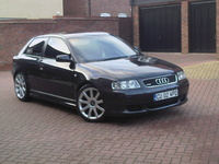 2002 Audi A3, A3 1.9TDi Quattro Sport with loads of mods FOR SALE £6k ono, ask for spec, exterior