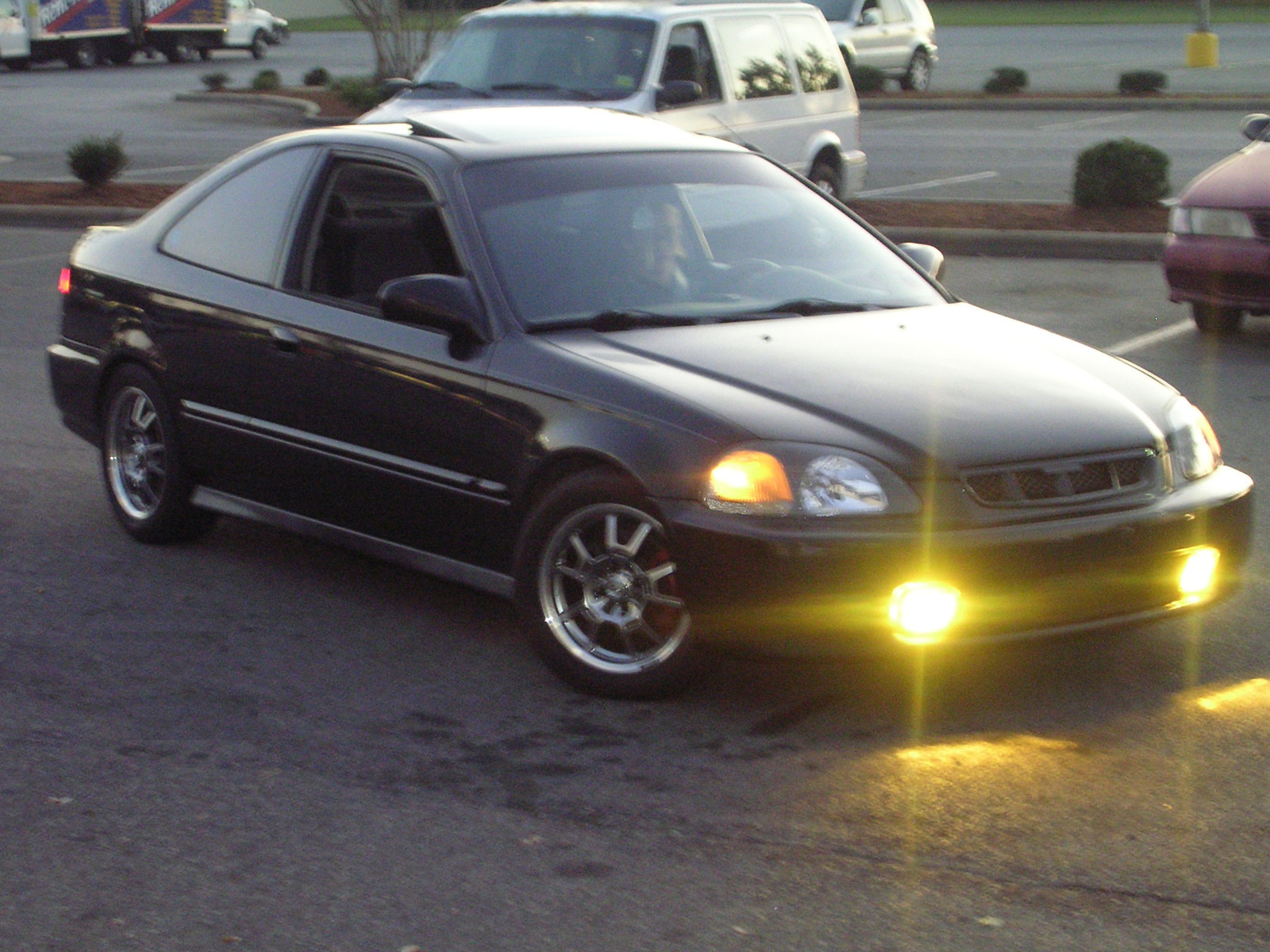 Honda Civic Dr Ex Coupe Pic