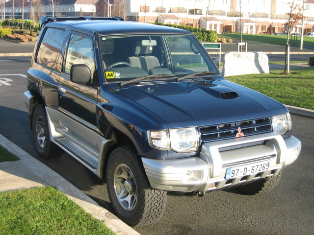 Picture of 1997 Mitsubishi Pajero, exterior, gallery_worthy