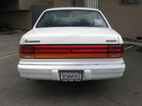 1993 Dodge Spirit 4 Dr Highline Sedan picture, exterior