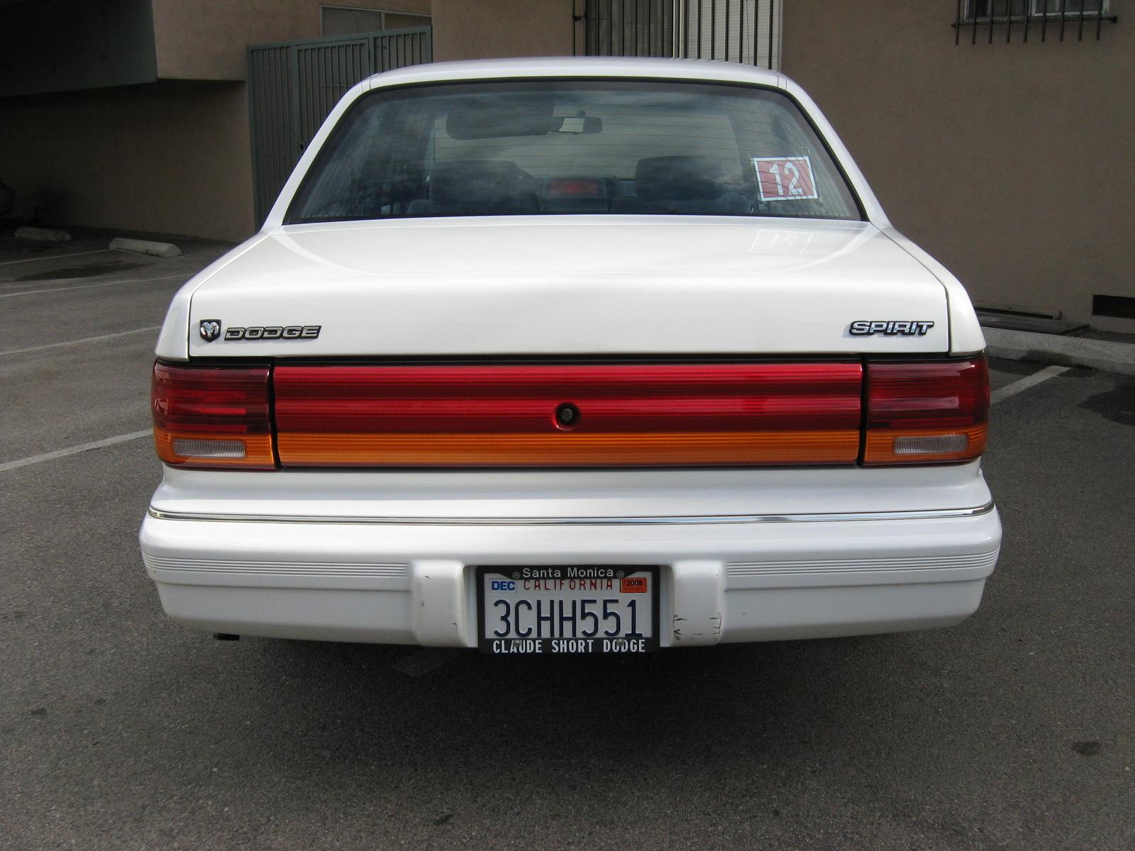 Dodge Spirit Dr Highline Sedan Pic