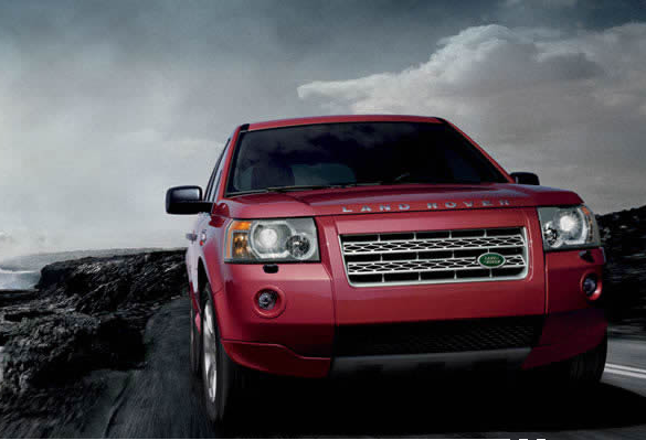 2009 Land Rover LR2, Front View, exterior, manufacturer