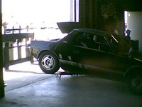 1985 FIAT X1/9, My little car on a forklift!!!, exterior