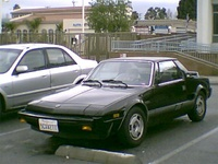 1985 FIAT X1/9 Overview