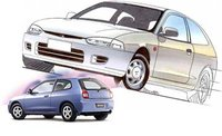 1995 Mitsubishi Mirage Picture Gallery