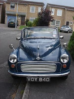 1957 Morris Minor Overview