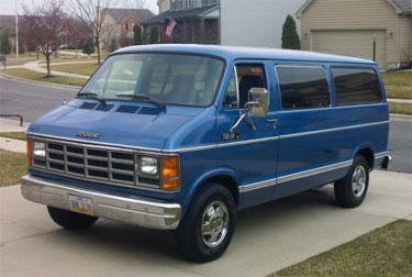 1981 Dodge Ram Van picture, exterior