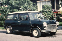 1969 Morris Mini Overview
