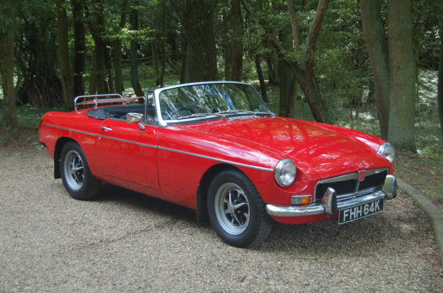 1964 MG MGB picture, exterior