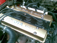 Picture of 1986 Toyota Corolla, engine