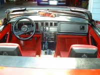 1987 Chevrolet Corvette Convertible picture, interior
