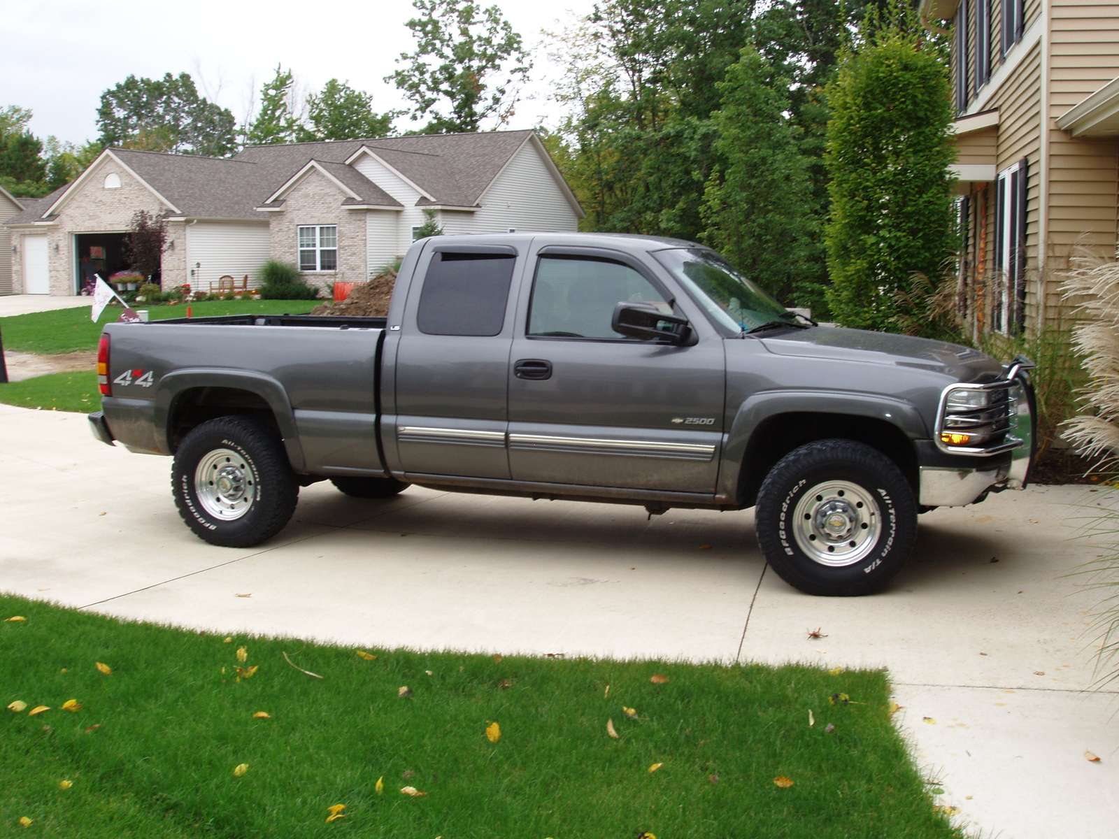 picture of 2000 chevrolet silverado 2500 3 dr ls 4wd extended cab sb. Cars Review. Best American Auto & Cars Review