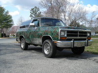 Picture of 1990 Dodge Ramcharger 150 LE 4WD, exterior, gallery_worthy