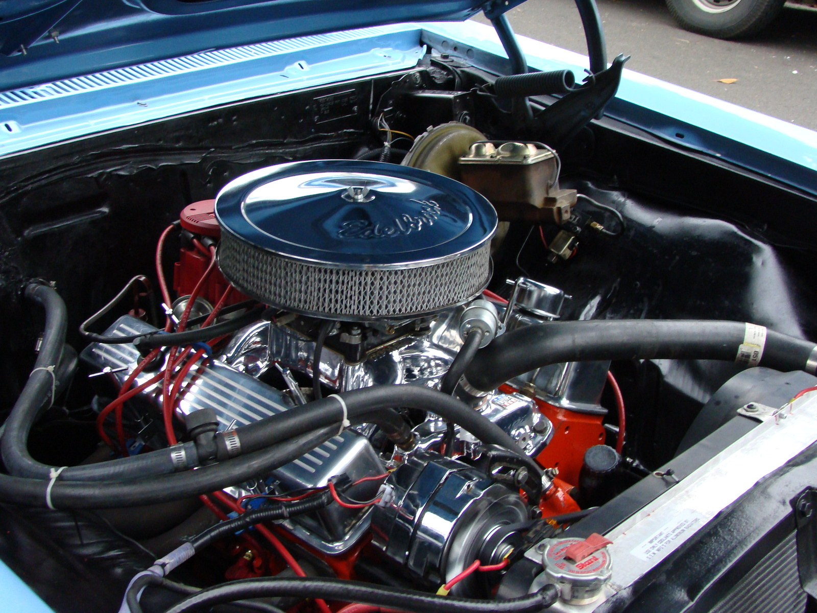 1967 Chevrolet Malibu picture, engine
