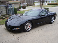 1998 Chevrolet Corvette Coupe, 1998 Chevrolet Corvette 2 Dr STD Hatchback picture, exterior