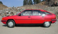 1989 Citroen BX Overview